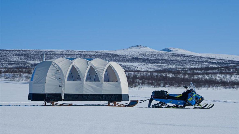 Artic Lavvo Tentpoles